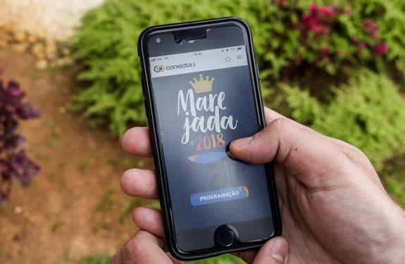 Programação da Marejada está disponível no aplicativo Conecta.í