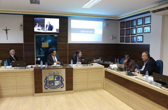 Projeto de ponte entre Navegantes e Itajaí é apresentado na Câmara
