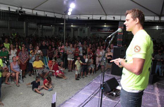 Projeto Nadar amplia atendimentos e contempla seis mil pessoas em Itajaí