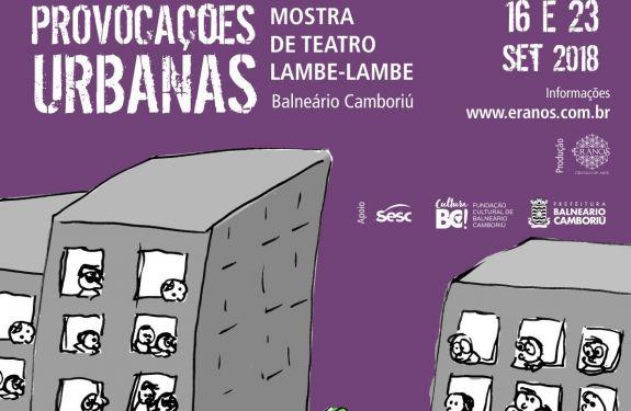 Provocações Urbanas em Balneário Camboriú e Itajaí