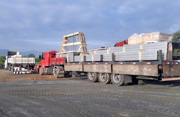 Reservatórios de água americanos chegam a Blumenau