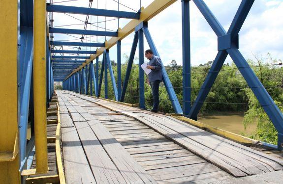 Rio do Sul projeta recuperação total de ponte