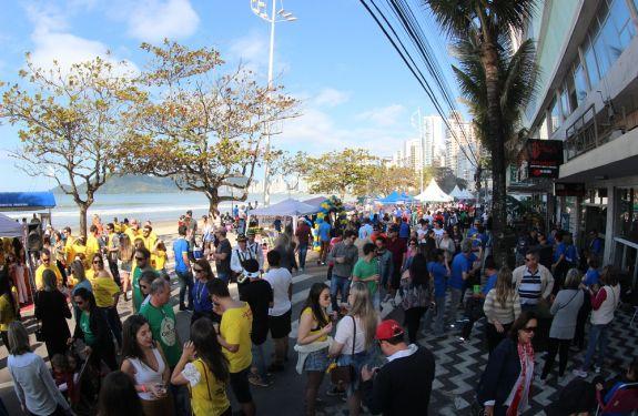 Sábado (15) tem Festa dos Amigos na Av. Atlântica em BC