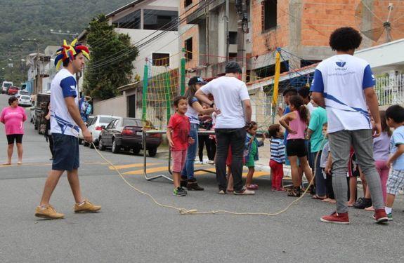 Sábado tem festa para as crianças no Bairro das Nações, em BC