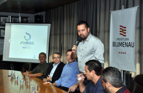 Samae de Blumenau apresenta resultados de 2017 e pacote de obras e ações para 2018