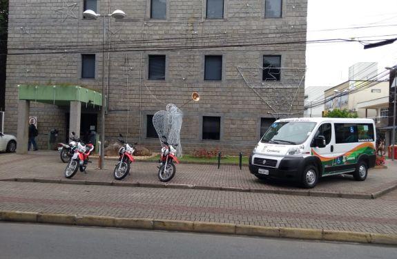 Saúde de Camboriú recebe Van adaptada com acessibilidade