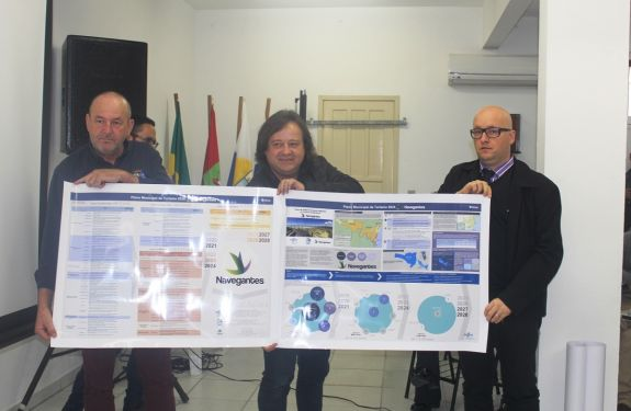 Sebrae: Plano de Turismo e identidade visual em Navegantes