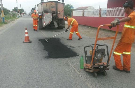 Secretaria de Obras realiza melhorias na infraestrutura de Navegantes