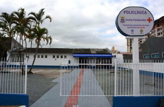 Secretaria de Saúde de Itajaí revitaliza Unidade Costa Cavalcante