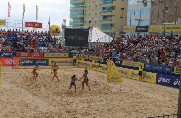 Segue até dia 19 a 3ª Etapa do Open de Vôlei de Praia em Itapema
