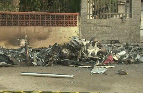 Sequestro foi anunciado durante voo de helicóptero em SC