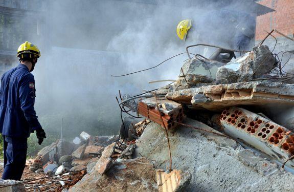 Simulado de deslizamento reúne cerca de 500 pessoas em Blumenau