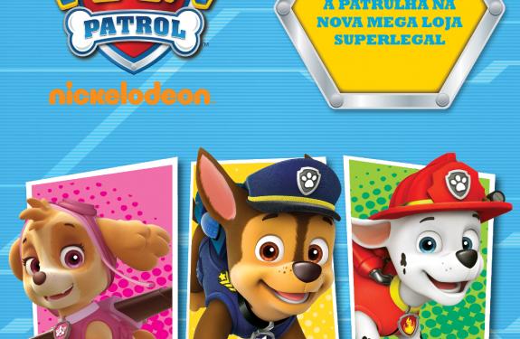 Superlegal Brinquedos traz Masha e o Urso e Patrulha Canina
