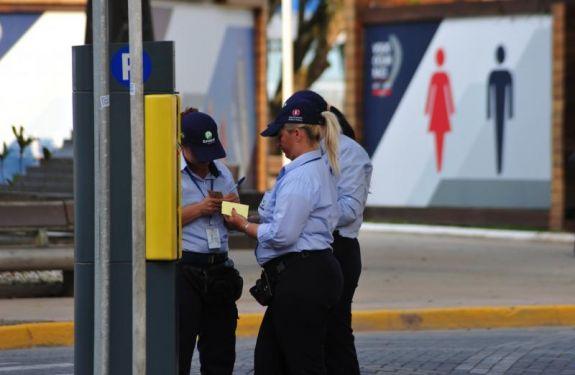Suspensa a cobrança de 30 vagas rotativas no Centro de Itajaí