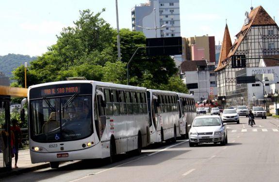 Tarifa do transporte coletivo de Blumenau é reajustada