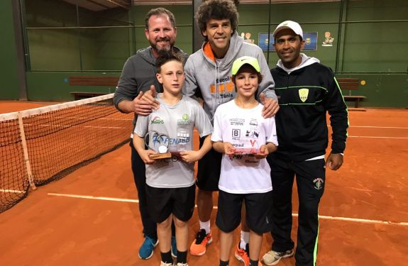 Tênis de Itajaí conquista títulos na Copa Guga Kuerten
