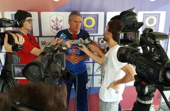Tonho Gil é efetivado como treinador do Marcílio Dias para a temporada