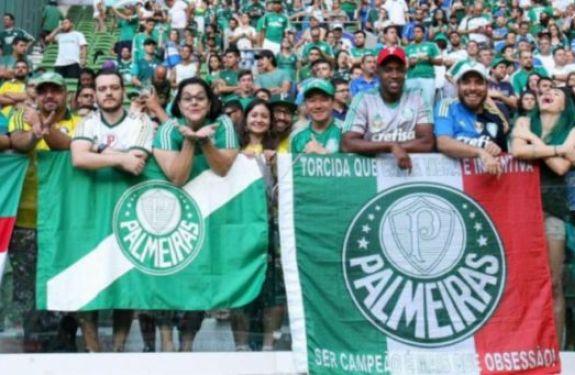 Torcida gerou R$ 103 milhões ao Palmeiras em 2016