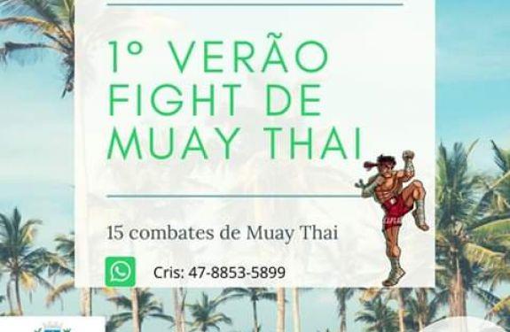 Piçarras: Torneio de Muay Thai acontece neste sábado (18)