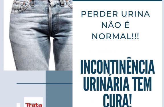 Trata BC: Incontinência Urinária tem cura!