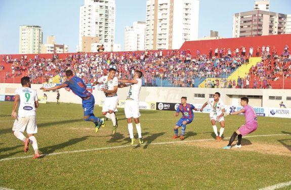 Tricolor não sai do 0x0 com o Marcílio Dias