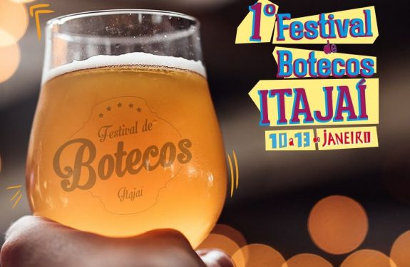 Vem aí o 1° Festival de Botecos de Itajaí