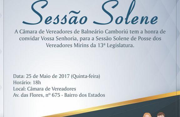 Vereadores mirins de Balneário Camboriú tomam posse nesta quinta (25)