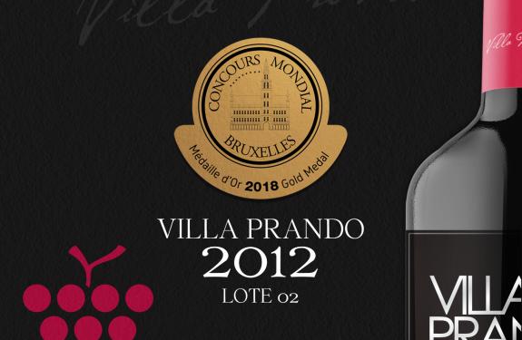 Villa Prando Vinícola foi premiada com ouro em Concurso de Vinho