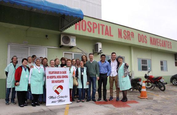 NVT: Voluntárias do Hospital comemoram 10 anos de sua fundação