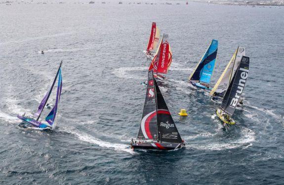VOR: Barcos partem para desafio da Regata de Volta ao Mundo