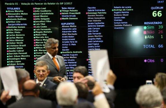 Votação da denúncia contra Temer deve dominar debates na Câmara