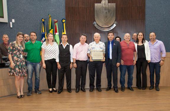 Família Schurmann é homenageada pela Câmara de Itajaí