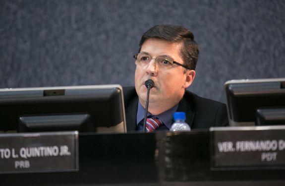 Otto solicita manutenção urgente de ciclovia no São Vicente