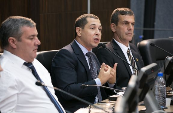 Níkolas Reis pede rondas ostensivas próximo ao Senai em ITJ