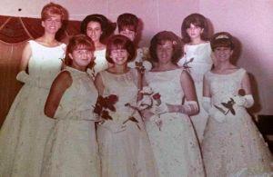 Debutantes da Sociedade Guarani - Itajaí em 1963. Foto de Dilane Barendse