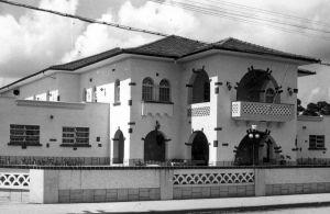 Segunda sede do Guarani na década de 70.