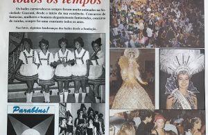 Jornal de comemoração aos 100 anos do Guarani.